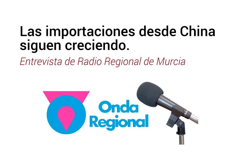 Entrevista de Radio Regional de Murcia