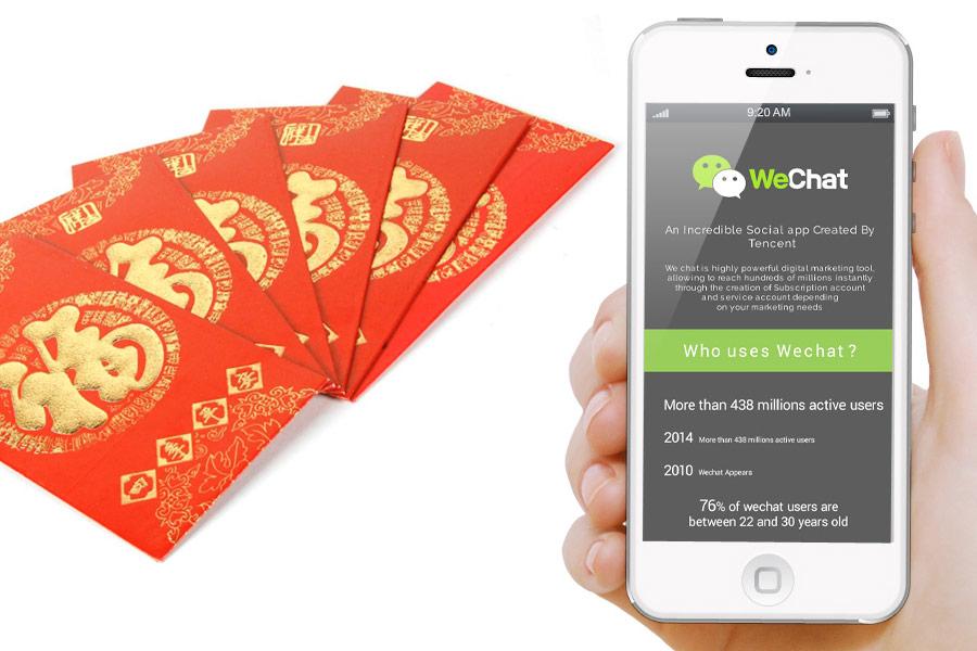WECHAT herramienta de pago en China