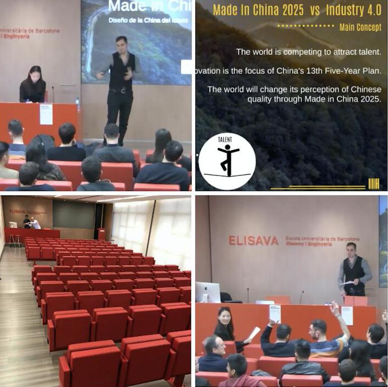 Conferencia en la escuela universitaria de dise o e - Escuela universitaria de diseno ...