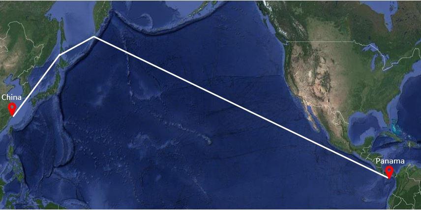 Ruta-maritima-China-Panama